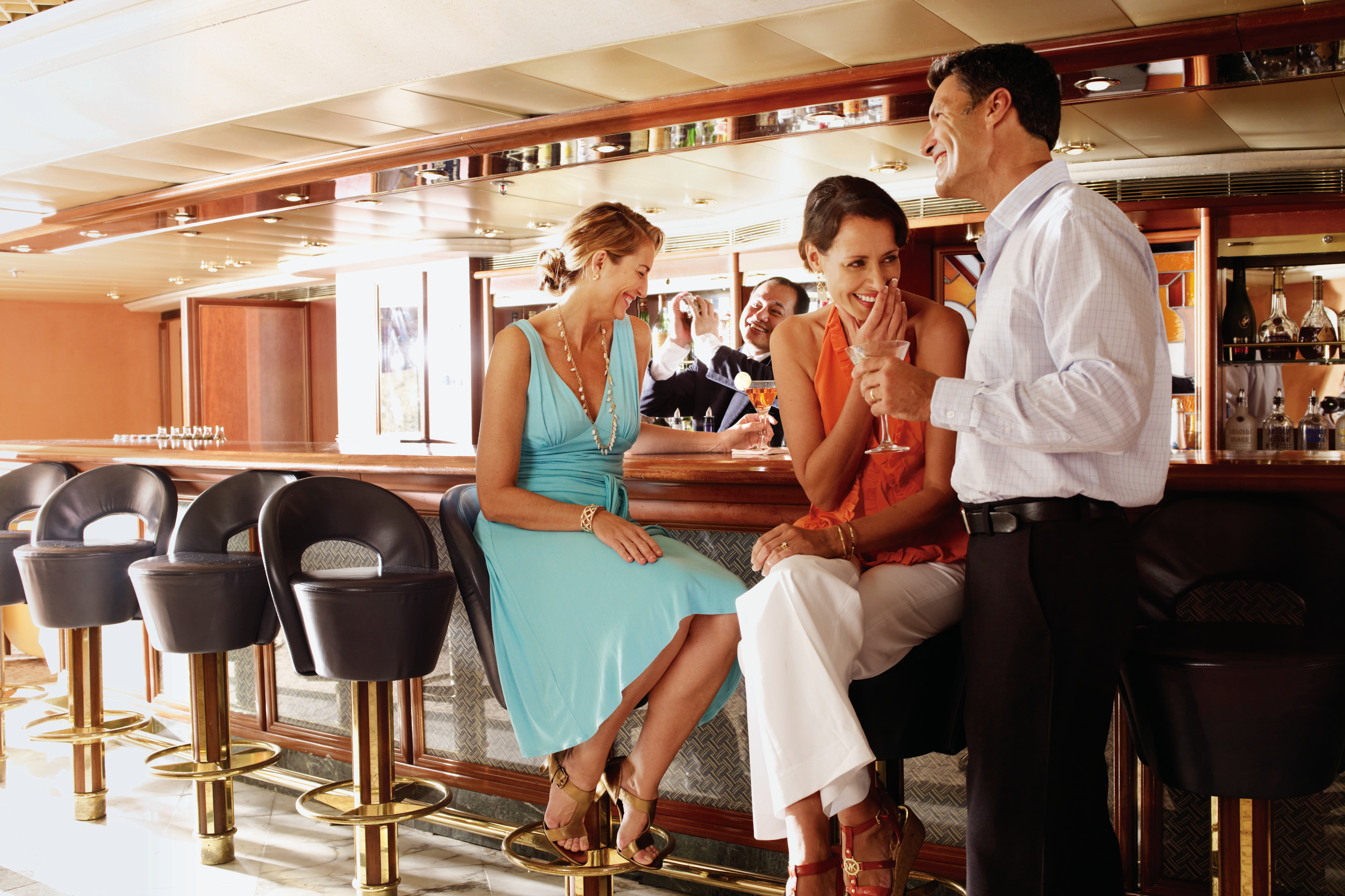 Silversea Pool Grill Bar