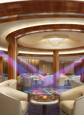 Encore Rendering Club Lounge Dance Floor