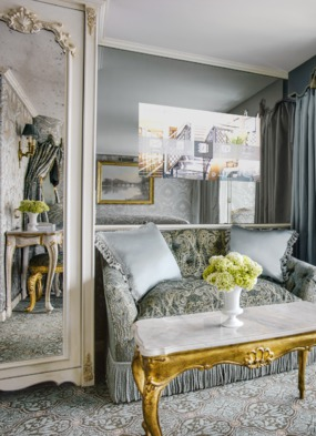 Uniworld River Cruises - SS Maria Theresa suite