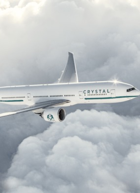Crystal AirCruises - Private jet tours