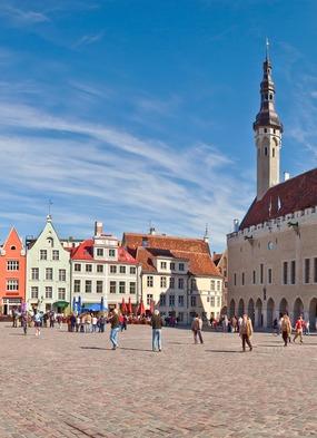 Tallinn, a highlight of Susan's Baltic cruise on Crystal Symphony