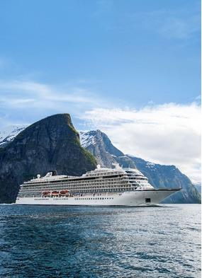 Viking Sky review - Ocean cruise ship in Flam, Norway