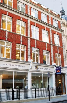 Mundy office, Wells Street, London