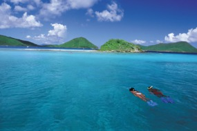 Snorkelling near St Thomas