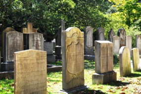 Graveyard in Charleston, South Carolina