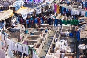 Dhobi Ghat outdoor laundry, Mumbai