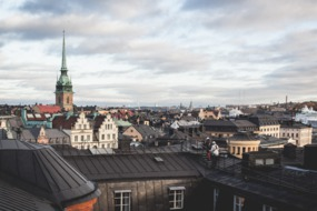 Rooftops of the Gamla Stan, Stockholm