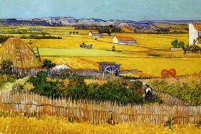 Van Gogh - Harvest at Arles