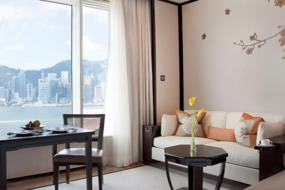 Deluxe Harbourview Room at The Peninsula Hong Kong