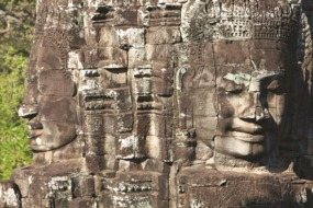 Bayon Temple carvings, Siem Reap