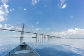 Bridge over the Rio Negro at Manaus