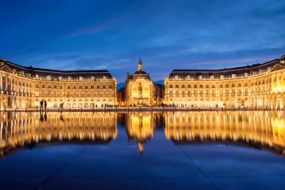 Place de la Bourse, Bordeaux at night