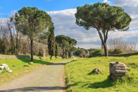 The Via Appia, Italy