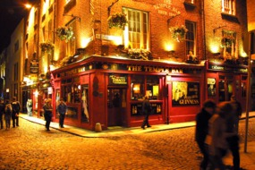 The Temple Bar pub, Dublin