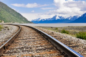 Railway between Seward and Anchorage, Alaska