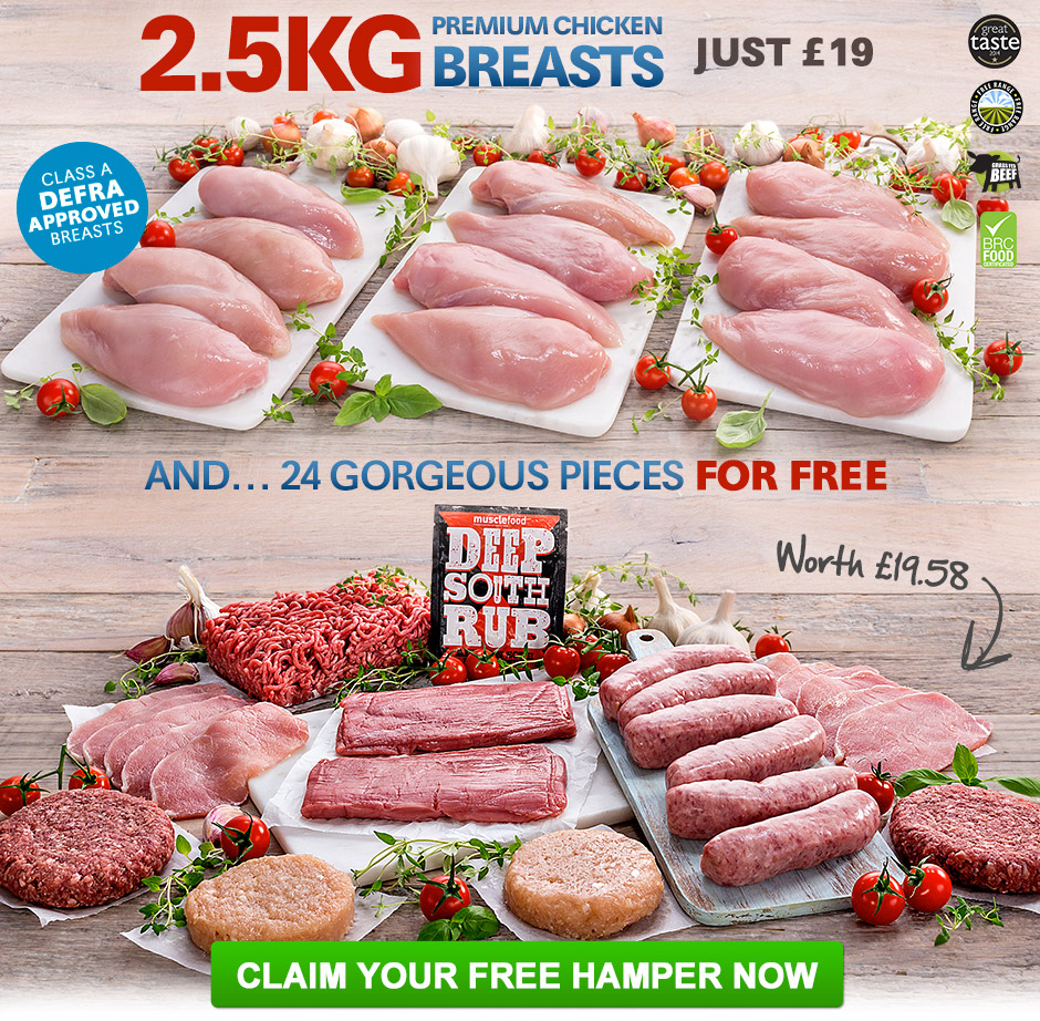 LIMTED: Claim your Best Ever Hamper NOW
