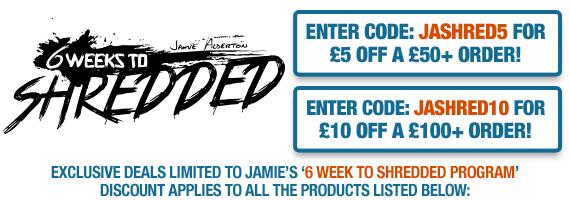 Jamie's '6 Weeks to Shredded'