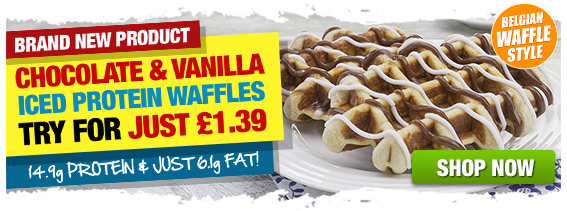New Protein Waffles