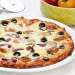 Tuna, Onion & Olive High Protein Pizza