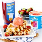 4 x High Protein Maple Syrup Waffles