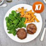 Tuna Burgers & Sweet Pot Fries - 7 Meals