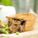 High Protein Steak & Gravy Pie