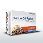 10 x 75g Chocolate Chip Flapjacks – 20g Protein!