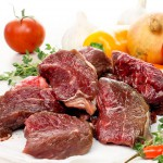 Lean Diced Buffalo Steak - 350g-350g