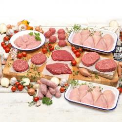Magerfleisch Probierkorb
