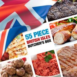 55 Piece British Isles Butcher's Box