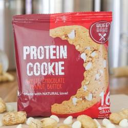 Buff Bake White Choc Cookie - 16g Protein