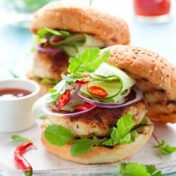 Extra Lean Chicken Burgers - 2 x 4oz