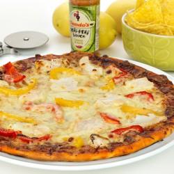 Citroen & Kruiden Kip Eiwit Pizza
