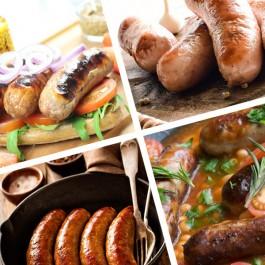 Great Tasting Sausage Selection