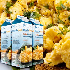 Liquid Scrambled Eggs Buy Liquid Egg White Online Meat Sports Nutrition At Wholesale Prices From Musclefood