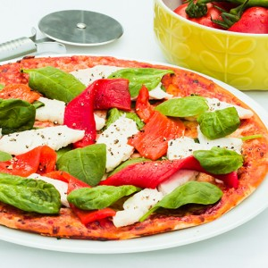 High Protein Pizza - Chicken and Pepper