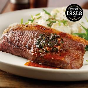 2 x 6-7oz Gerijpte Picanha steaks - vrije uitloop