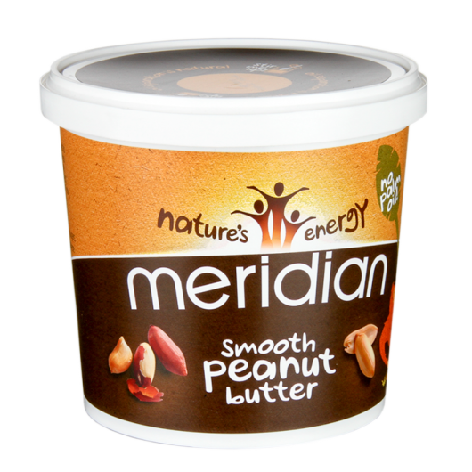 Meridian Smooth Peanut Butter - 1kg - Dated April 18