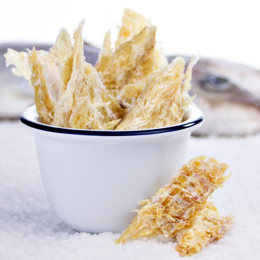 Snackfish dried haddock snack
