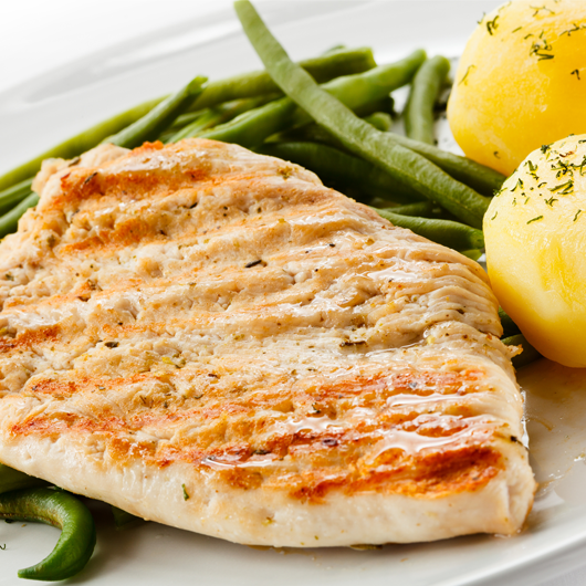 Lean Turkey Breast Steaks