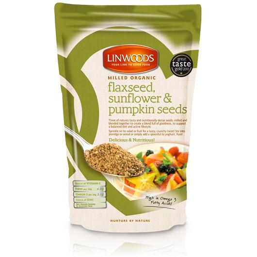 Organic Flaxseed Sunflower & Pumpkin Seeds
