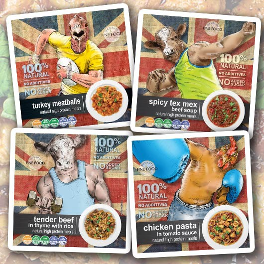 beANIMAL™ High Protein Ready Meals