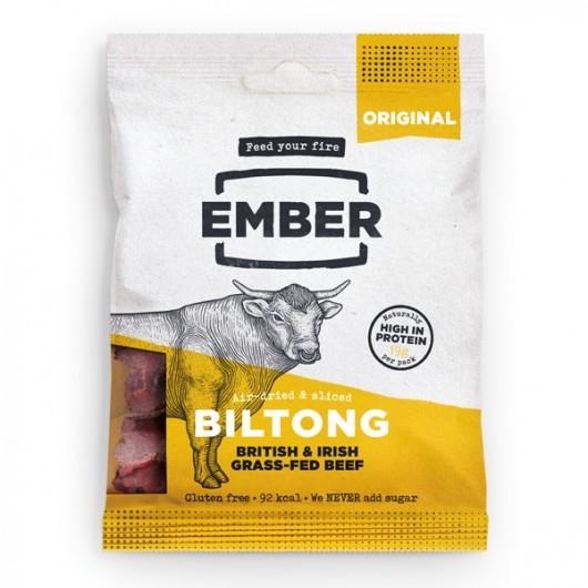 Ember Original High Protein Biltong - 3 x 30G