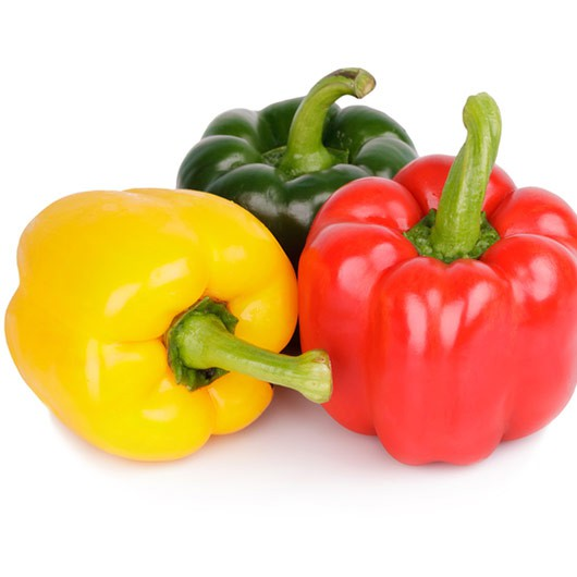 3 x Whole Mixed Peppers
