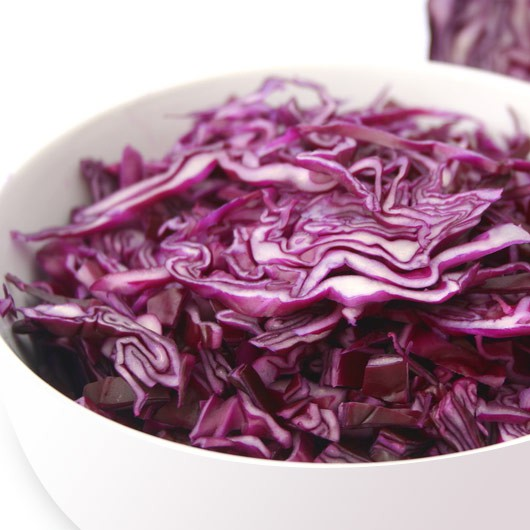 Shredded Red Cabbage - 500g