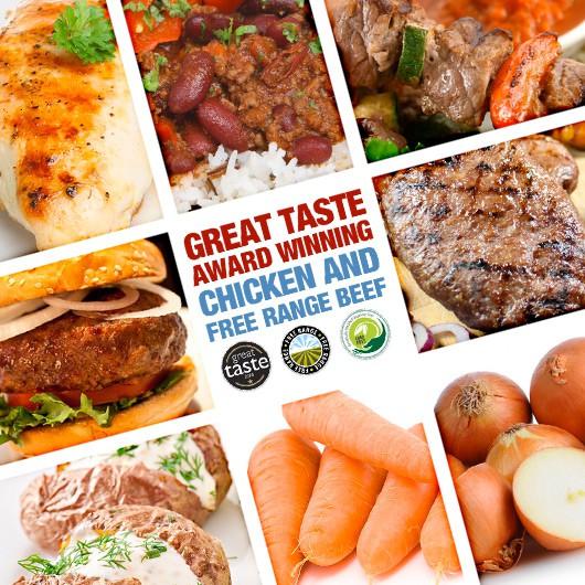 Great Taste Award Winning Chicken & Beef Hamper