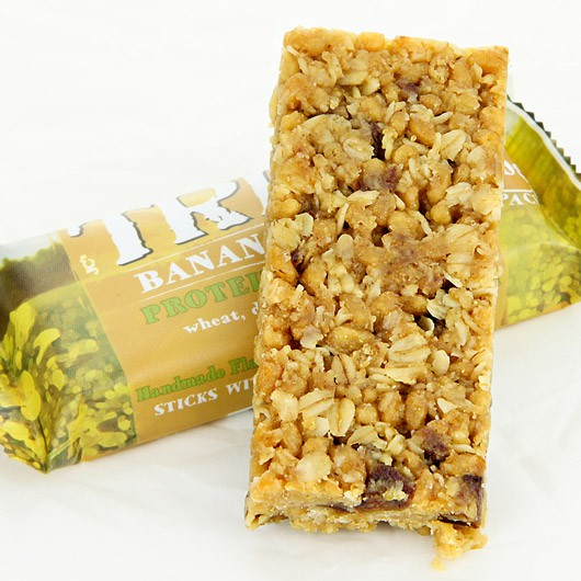 Trek Banana Bread Flapjack - 50g bar