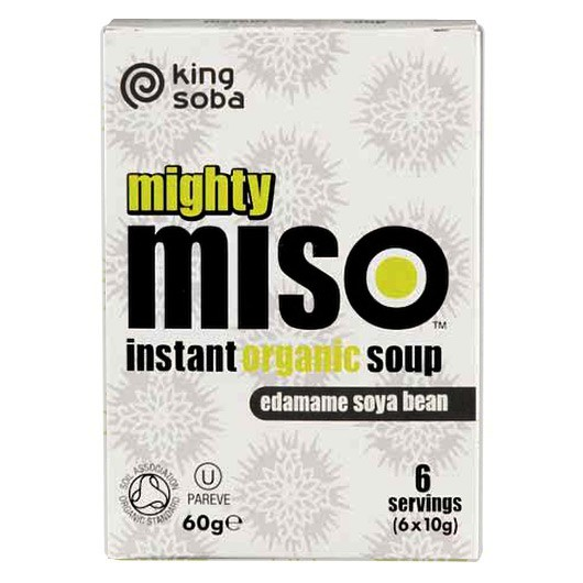 Organic Miso Soup Edamame Bean - 6 Pack