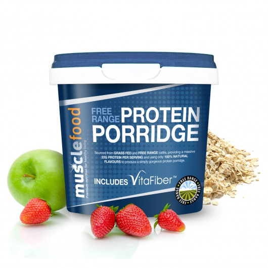 Strawberry & Apple Porridge - 23g Protein