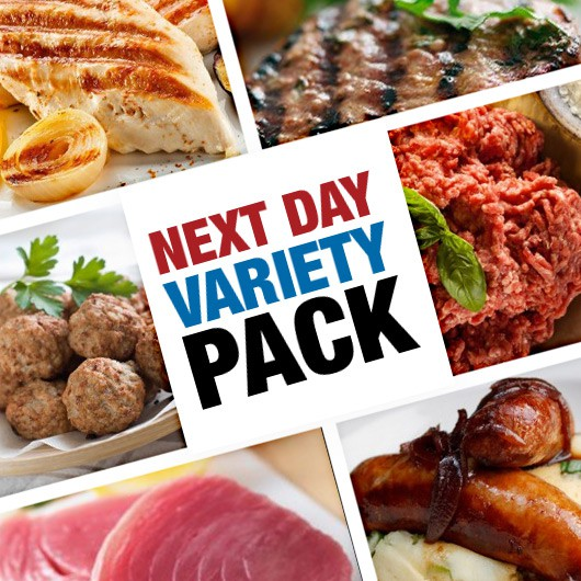 Next Day Meat, Fish & Snack Variety Hamper